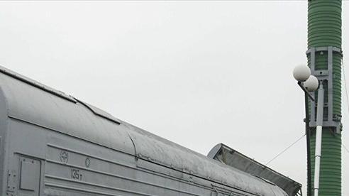 Đoàn tàu mang tên lửa hạt nhân của Nga được gọi là 'cơn ác mộng của Mỹ'