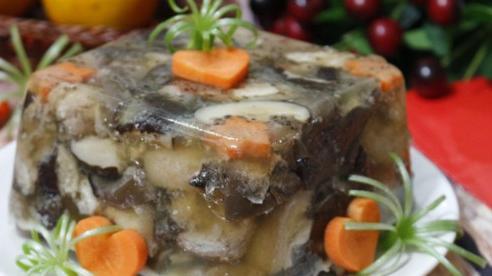 Chân giò lợn nấu đông: Món ngon không thể bỏ qua trong ngày lạnh