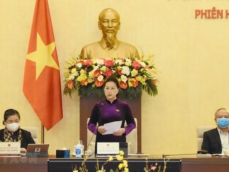 Ngày 11/1, khai mạc Phiên họp thứ 52 của UBTV Quốc hội khóa XIV