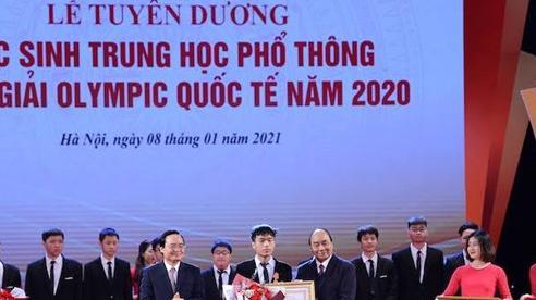 Học sinh Việt Nam đạt được thành tích đáng tự hào tại các kỳ Olympic