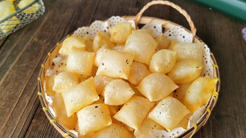 Cả nhà ngạc nhiên khi thấy tôi dùng váng đậu làm snack bằng nồi chiên không dầu nhưng khi ăn thì khen nức nở!