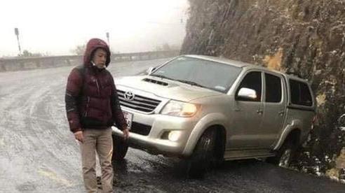 CLIP: Đường trơn trượt, nhiều phương tiện gặp nạn trên đường lên Sa Pa, Ô Qúy Hồ