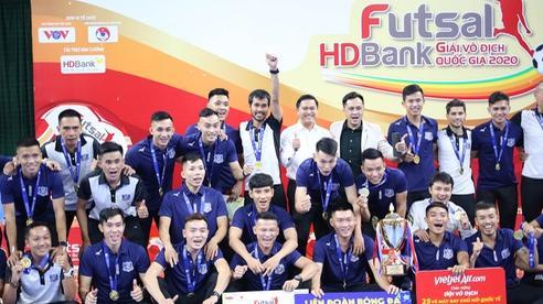 Thái Sơn Nam được đề cử giải thưởng futsal danh giá thế giới