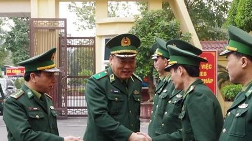 212 cán bộ, chiến sĩ xung phong thực hiện nhiệm vụ trên biên giới dịp Tết Tân Sửu 2021