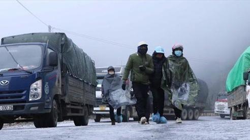 Cẩn trọng khi di chuyển trong điều kiện có băng tuyết