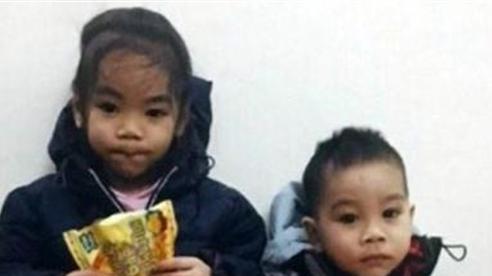 Chuyện bất ngờ về hai cháu bé bị bỏ lại trên đê