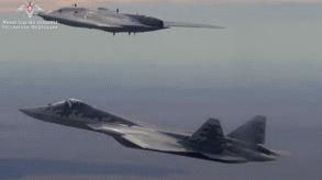 Vũ khí Nga: 'Thợ săn' hạng nặng đem nửa tấn bom tấn công thử nghiệm mục tiêu mặt đất