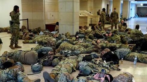 Hơn 20.000 lính Vệ binh quốc gia Mỹ bảo vệ lễ nhậm chức của ông Biden