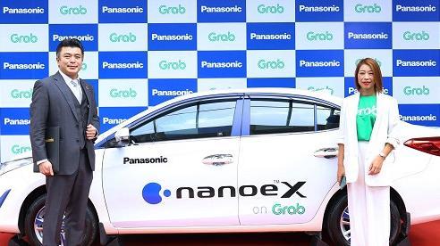2.000 xe GrabCar ở Việt Nam sẽ lắp đặt các thiết bị phát nano™ X của Panasonic