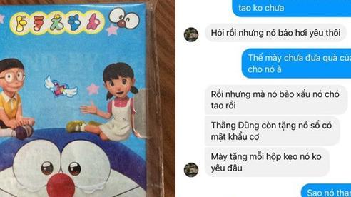 Đọc tin nhắn yêu đương của học sinh lớp 5, câu hứa hẹn sau 20 năm khiến tất cả bật cười