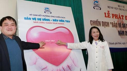 Phát động chiến dịch 'Bảo vệ sự sống: Hãy rửa tay' năm 2021