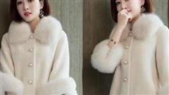 Những kiểu áo khoác lông hot nhất mùa đông 2020-2021, nàng khoác lên sẽ khiến người ngắm nhìn phải trầm trồ