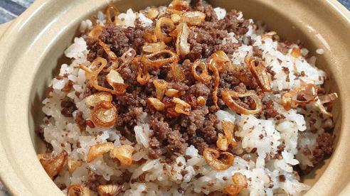 Xôi chim câu cốt dừa: Món ngon khó cưỡng ngày lạnh