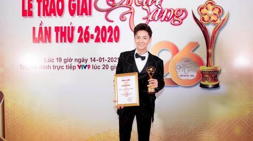 Ngô Kiến Huy nhận giải 'Mai Vàng' 4 năm liên tiếp