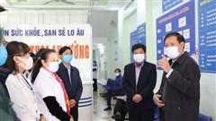 Đoàn công tác Bộ Y tế kiểm tra thực tế chống dịch COVID-19 tại Lào Cai