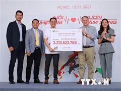 Chiến dịch 'Chạy vì trái tim 2020' vận động được hơn 3 tỷ đồng