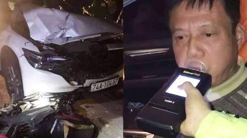 Tài xế say rượu kéo lê xe máy gần 2km ở Quảng Trị