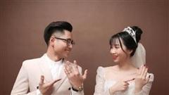 Chuyện tình 'gây bão' của cặp đôi nên duyên nhờ một câu 'thả thính' trên mạng xã hội