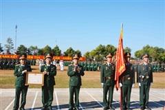 Sư đoàn 320 đón nhận Huân chương Bảo vệ Tổ quốc hạng Ba