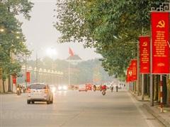 Hà Nội tạm cấm một số tuyến đường để phục vụ Đại hội Đảng lần thứ XIII