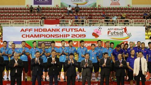 Futsal Việt Nam quyết giành HCV SEA Games 31