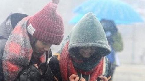 Bắc Bộ chuyển rét đậm, rét hại vì không khí lạnh mạnh đổ bộ