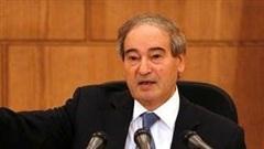Ông Mekdad mới được thăng chức Ngoại trưởng Syria, EU đã lập tức 'sờ gáy'