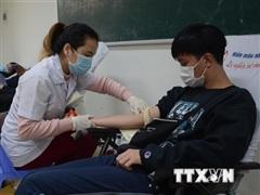 Tiếp nhận hơn 500 đơn vị máu trong Ngày hội 'Chủ nhật đỏ' tại Đà Nẵng