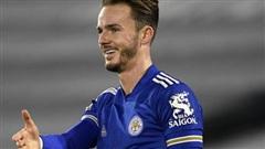Sao Leicester không cho đồng đội chung vui bàn thắng để tuân thủ quy định phòng dịch, diễn cảnh ăn mừng một cách 'không hề giả trân'