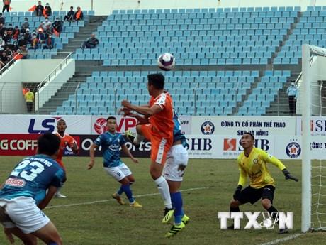 V-League 2021: Đức Chinh lập công giúp SHB Đà Nẵng có 3 điểm đầu tiên