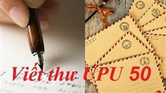 Tham khảo bài viết thư UPU lần 50 chủ đề đại dịch COVID-19