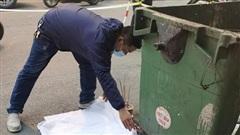 Thông tin mới nhất vụ thai nhi vứt cạnh thùng rác bị ô tô cán qua ở Hà Nội