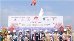 Cất nóc và mở bán dự án nhà ở xã hội thông minh Golden City lớn nhất Tây Ninh