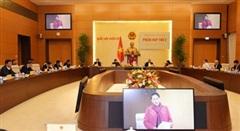 Chủ tịch Quốc hội Nguyễn Thị Kim Ngân chủ trì Phiên họp thứ 2 của Hội đồng Bầu cử quốc gia