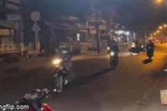 Cảnh sát hình sự nổ súng giải tán 50 'quái xế' nẹt pô inh ỏi