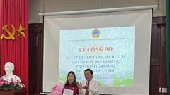TANDCC tại THCM: Công bố quyết định bổ nhiệm Chánh Tòa kinh tế