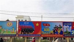 Hà Nội: Rực rỡ cờ, băng rôn chào mừng Đại hội XIII của Đảng