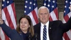 Ông Pence xuất hiện chính thức lần cuối trước khi rời nhiệm sở
