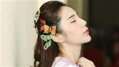 Ca sĩ Thủy Tiên tung bộ ảnh tựa như công chúa Hàm Hương