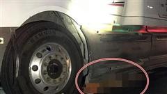 Vụ nạn nhân bị container kéo 60km: Lời khai ban đầu của tài xế