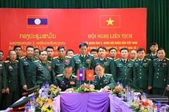 Hợp tác toàn diện, hữu nghị, đoàn kết giữa Quân khu 2 với Quân đội nhân dân Lào