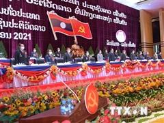 Chủ tịch MTTQ gửi thư chúc mừng thành công của Đại hội Đảng NDCM Lào