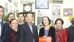 Chủ tịch UBND thành phố Hà Nội chúc Tết gia đình chính sách ở quận Đống Đa