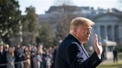 Nhà Trắng tổ chức lễ chia tay Tổng thống Trump trong ngày nhậm chức của ông Biden