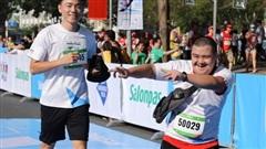 TP.HCM: Ấm áp đường chạy marathon dành riêng cho người khuyết tật và nạn nhân chiến tranh