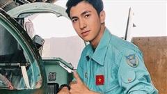 Diễn viên Bình An thích thú khi vào vai phi công trong phim Tết