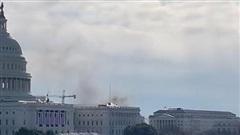 Điện Capitol bất ngờ bị phong toả giữa lúc diễn tập chuẩn bị lễ nhậm chức của tân tổng thống