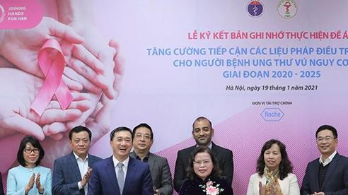 Hợp tác ngăn ngừa bệnh ung thư vú