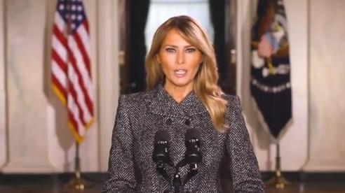 Vợ ông Trump đưa ra thông điệp chia tay
