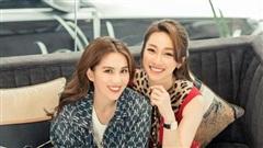 Ngọc Trinh dát đồ hiệu khắp người để đi ăn bún mắm với bạn gái Chi Bảo